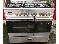 //(%)\ KENWOOD DUAL FUEL RANGE COOKER INCLUDES 6 MONTHS GUARANTEE