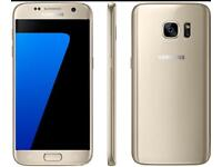 SAMSUNG GALAXY S7 32gb GOLD UNLOCKED . BOXED. Brand new condition
