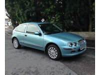 2003 ROVER 25 IMPRESSION 3 BLUE l.4 Only 24000 miles 1 owner FSH
