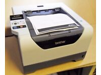 BROTHER HL-5380DN LASET NETWORK PRINTER WITH NEW TONER