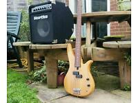 Quality Bass and Amp Package