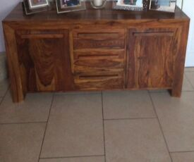 Beautiful Indian rose wood sideboard