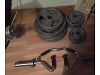 MARCY BENCH WEIGHTS (1.25 KG TO 20KG) FULL SET