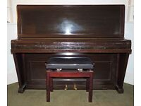 Cramer Upright Piano with Stool
