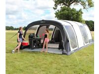 Trailer + tent and full camping equipment
