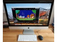 "iMac 27"" Mid-2011 3.1 Core i5 Quad 1TB Fusion drive 8GB RAM Optical Thunderbolt Radeon HD 6970M 1GB"