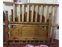 OAK BED FOR SALE