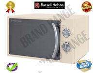 ***NEW***Russell Hobbs Manual Microwave 17 Litre Cream RHM1709C