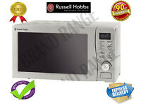 ***NEW***Russell Hobbs Digital Microwave with Stainless Steel Front RHM2009S-G 800W 20L