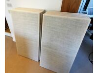 10 x White Acoustic Panels - Sound Absorbing
