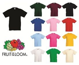 Wholesale job lot of kids Fruit of the Loom T Shirts