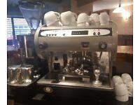 San Marino single group head coffee machine.