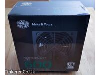 Cooler Master MasterWatt Lite 600 PSU | 600W | PC Computer Power Supply Unit PSU