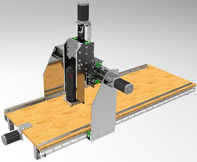CNC Portalfräse Bauanleitung Bauplan Fräse 3D Drucker Printer + BIGMAX