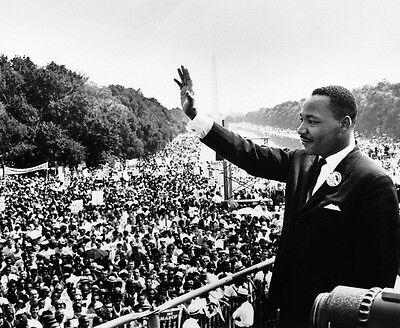 MARTIN LUTHER KING JR SPEECH 8X10 GLOSSY PHOTO PICTURE
