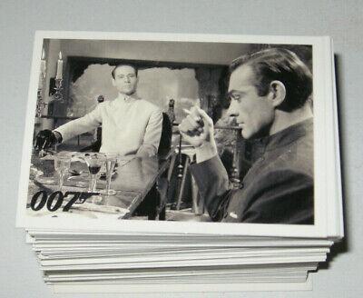 James Bond 007 DANGEROUS LIAISONS  Complete Trading Card Set  Spy  B&W and Color