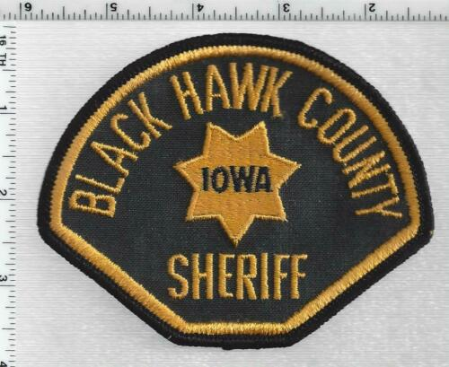 Black Hawk County Sheriff  (Iowa) 2nd Issue Shoulder Patch