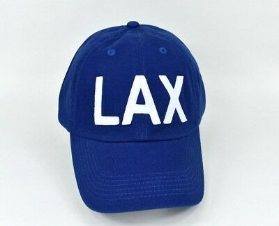LAX Hat Airport Code Hat Area Code Los Angeles Dodgers Clippers Lakers Fashion
