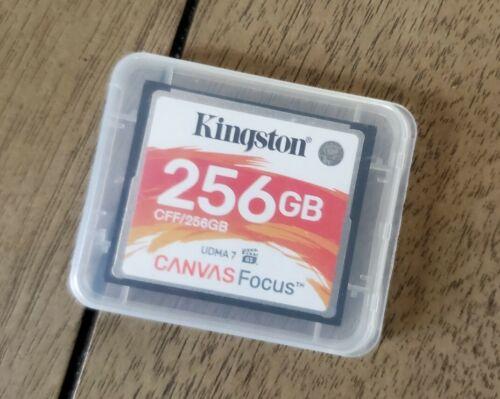 256GB Kingston Canvas Focus CompactFlash Memory Card - $29.00