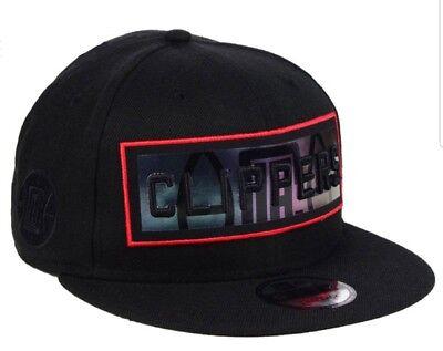 Los Angeles Clippers New Era Mens NBA Iridescent Stripe 9FIFTY Snapback Cap