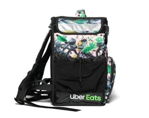 Uber Eats Insulated Backpack Limited Edition Artist Series (Brent)