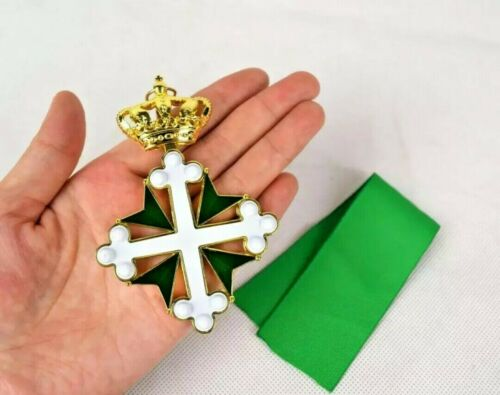 Italy Grand Cross Medal Order of St. Maurice and Lazarus Commander Class Replica