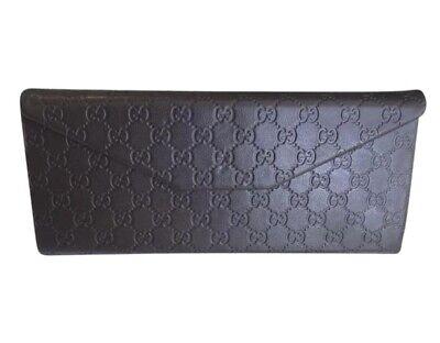 Gucci Glasses Branded Case Dark Brown (Gucci Glasses Case)
