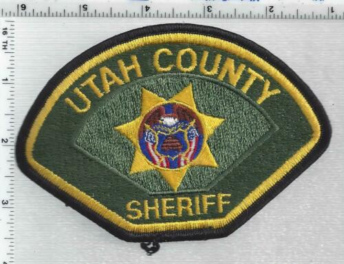 Utah County Sheriff (Utah) 5th Issue Shoulder Patch