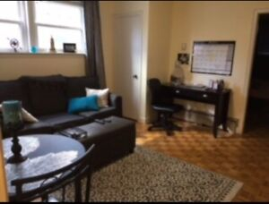 One bedroom sublet - avail. now! All inclusive + furnished!