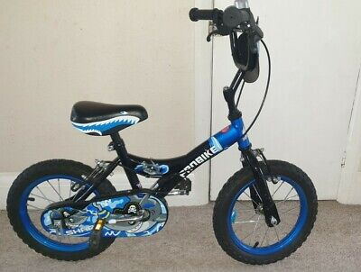 Shark 14'' Kids Bike - Blue