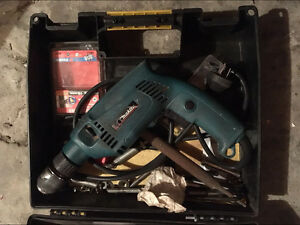 Makita hammer drill - corded (with Black case) Greenacre Bankstown Area Preview