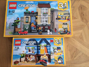 LEGO 31063、31065 Creator Park Street Townhouse Ryde Ryde Area Preview