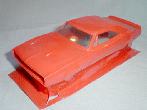 1969 Dodge Charger General Lee Painted Slot Car Body Original Repo Du-Bro NOS