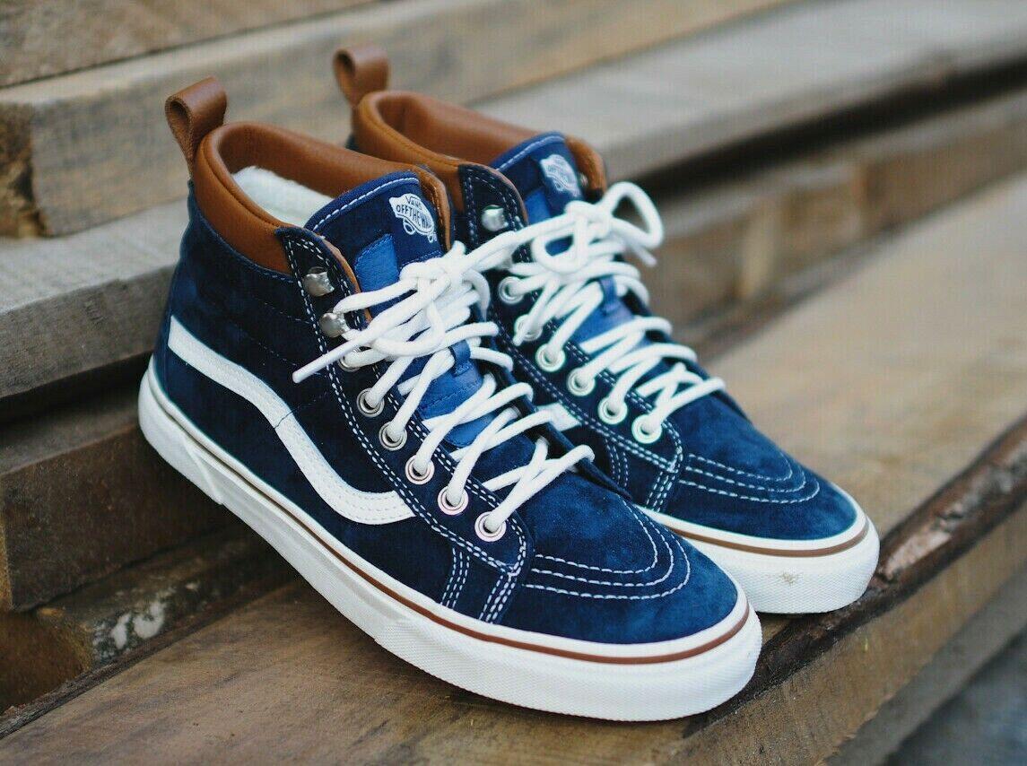 Vans SK8-HI MTE SKATE Shoes Size Men's 9.5 DRESS BLUES/ MARS