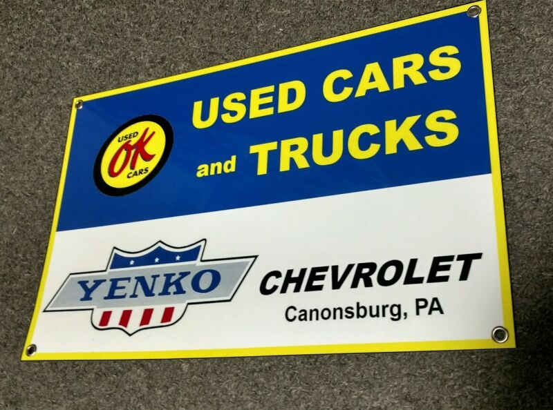 Yenko Camaro Chevrolet sign ....Large