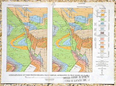 USGS LEADVILLE AREA, WEST SLOPE of MOSQUITO RANGE Mines HARD COVER, All 20 MAPS