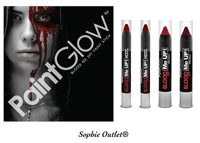 Halloween Makeup Eyeliner (Genuine PaintGlow BLOOD ME UP Make Up Fake Stage Film Halloween Body Eye)