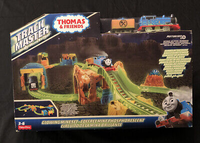 Thomas the Train GLOWING MINE SET Trackmaster Motorised Glows in the Dark New