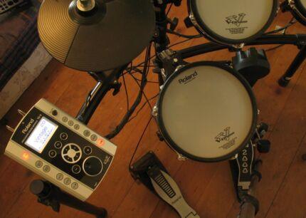 Roland V tour TD9-KX drum kit Ashgrove Brisbane North West Preview