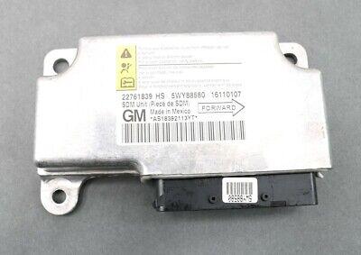 NEW OEM GM Air Bag Control Module 22761839 Chevrolet HHR Panel Wagon 2009-2011