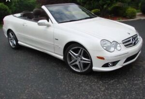 CLK 2009 convertible GRAND EDITION ,  AMG package