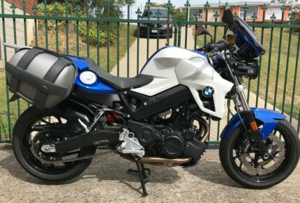 BMW F800R, low km, tidy , may trade another road bike. $8500