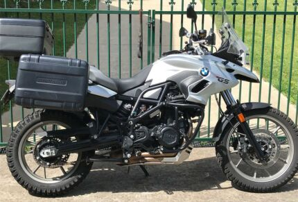 BMW F700GS,800cc, Adventure Touring, may trade Rd bike, $10,900.