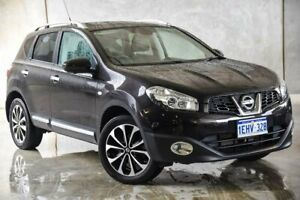 2013 Nissan Dualis J10W Series 4 MY13 Ti-L X-tronic AWD Black 6 Speed Constant Variable Hatchback