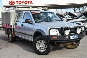 2006 Holden Rodeo RA MY06 Upgrade LX (4x4) Silver 5 Speed Manual Cab Chassis