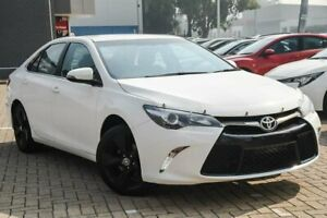 2015 Toyota Camry ASV50R Atara SX White 6 Speed Sports Automatic Sedan Morley Bayswater Area Preview