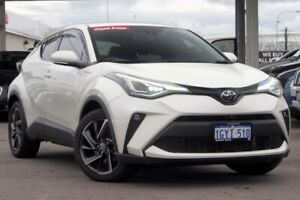 2019 Toyota C-HR NGX10R Koba S-CVT 2WD Crystal Pearl 7 Speed Constant Variable Wagon
