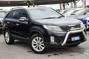 2013 Kia Sorento XM MY13 SLi (4x4) Black 6 Speed Automatic Wagon