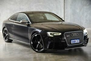 2012 Audi RS5 8T MY13 S Tronic Quattro Black 7 Speed Sports Automatic Dual Clutch Coupe Osborne Park Stirling Area Preview