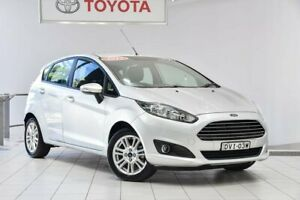 2017 Ford Fiesta WZ Trend PwrShift Silver 6 Speed Sports Automatic Dual Clutch Hatchback Waterloo Inner Sydney Preview